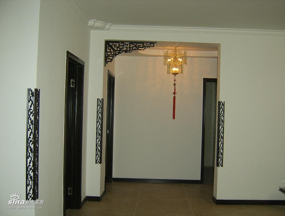大阳台的窗帘与客厅的垭口2图片