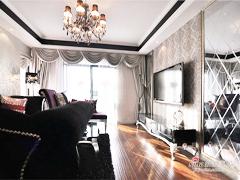 新婚夫妻125平新古典时尚3居室