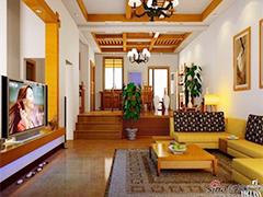 低调的奢华功能性别墅装修设计图