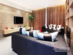 【高清】130平原木现代时尚3居室