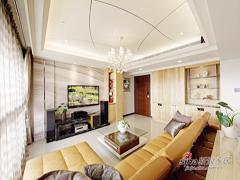 【高清】142平现代混搭舒适3居室