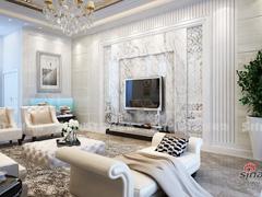 370平米欧式新古典风格别墅装修设计效果图