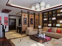 上海实创装饰之东源名都新中风 小区名称:东源名都