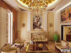 260平宫廷欧式风格设计