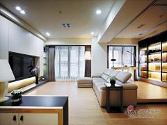 【高清】108平简欧自然舒适3居室