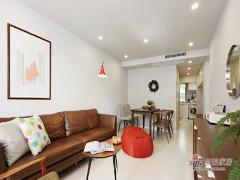 【高清】96平现代工业风格两居室