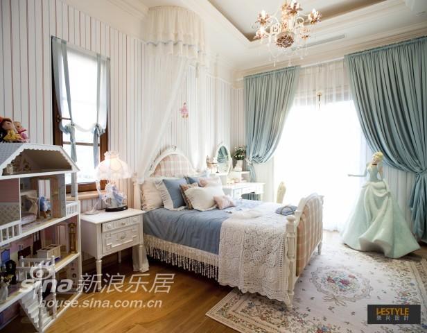 欧式奢华蓝色经典别墅设计