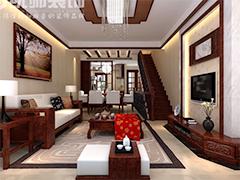300平别墅中式风格的情趣