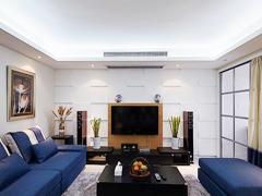【多图】25万打造130平现代风居室