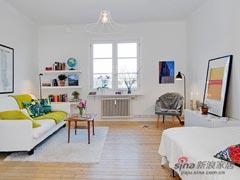 34平迷人精致单身公寓