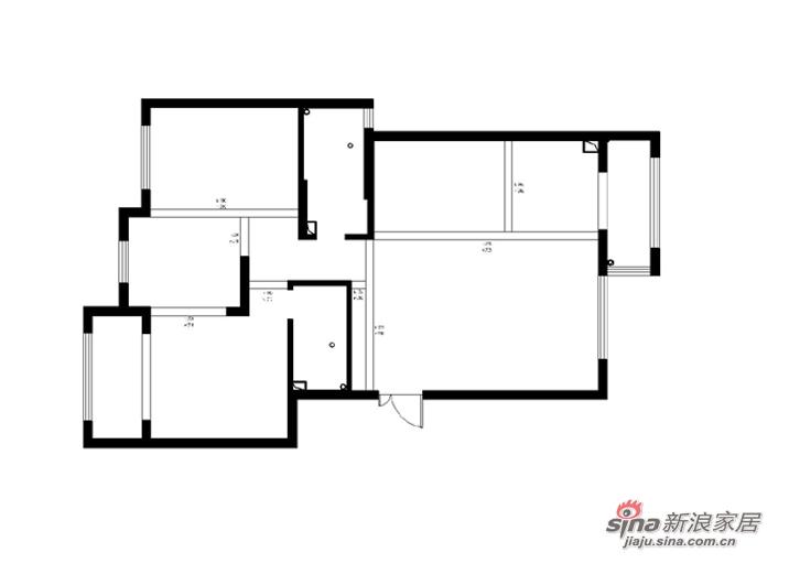 水域天际/三居室平/简约风格--121平
