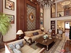 300平别墅中式古典风格