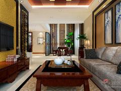 28万精装【山水印象】223平别墅|新中式风装修设计