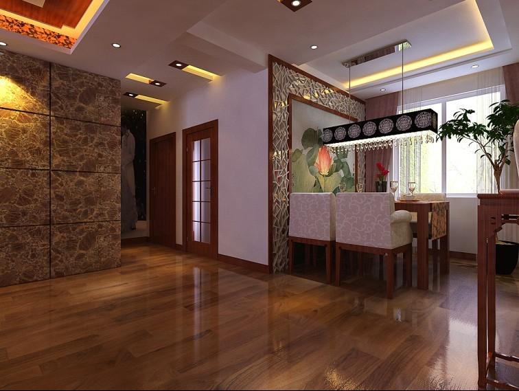 5万装修豪华123平中式装修图片 高清图片