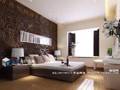 《浪漫素色调》--现代简约四房两厅130平米
