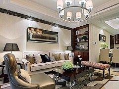 时尚新古典风格二室一厅样板房