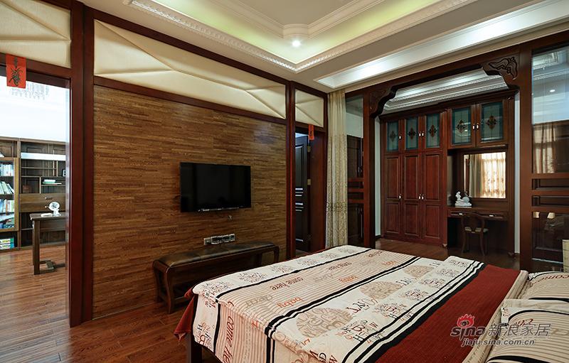 清单中式风卧室