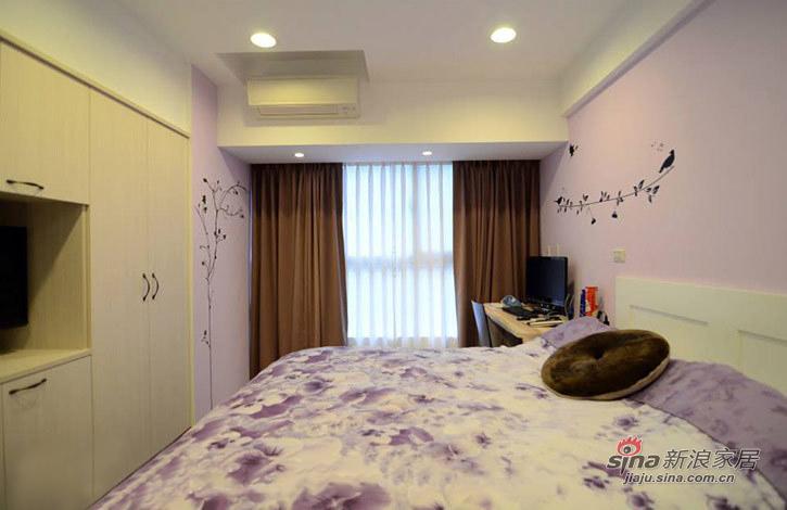 薰衣草紫色浪漫卧室