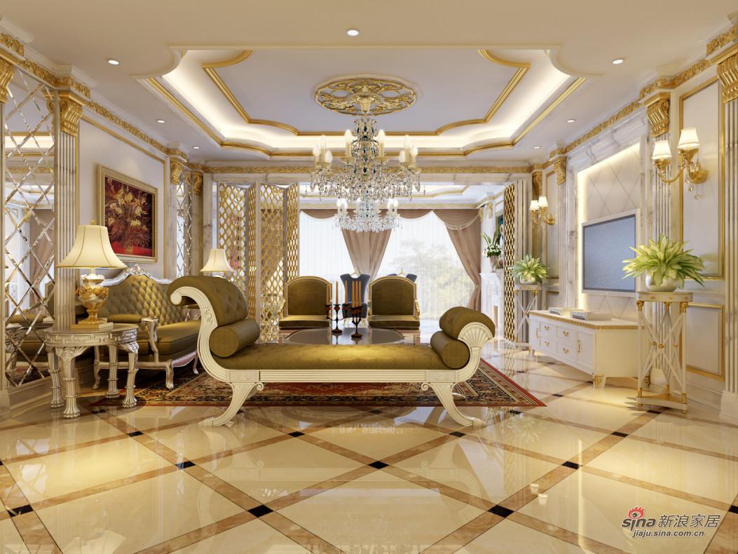 250平米八角楼欧式风格别墅装修效果图