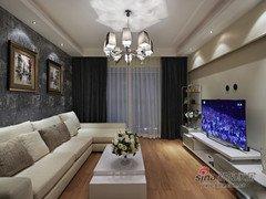 141平前卫时尚大三居婚房仅需9万元