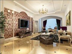 高贵不失典雅之家-158平欧式现代装修案例