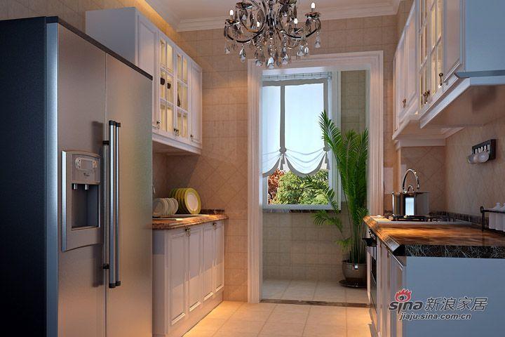 名湖豪庭131平/三居室简欧风格/低调的