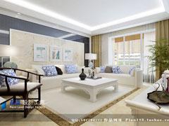 【高清】《唐宋风韵》--现代中式三房两厅155平米