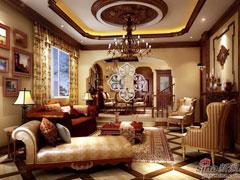 花样年花郡别墅案例风格:欧式古典风格