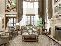 【高清】古典风格别墅设计
