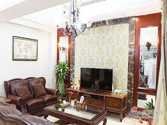 【高清】135平纯正美式雅致3居室