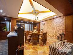 【高清】125平美式典雅大气3居室