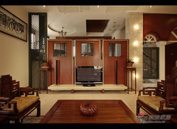 银湖翡翠320平别墅海派风格装修设计