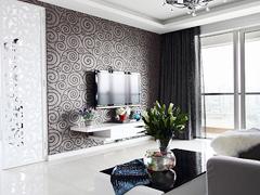 【高清】120平黑白现代素雅3居室