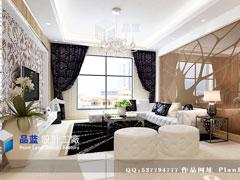 《金银饰界》--现代简约三房两厅127平米