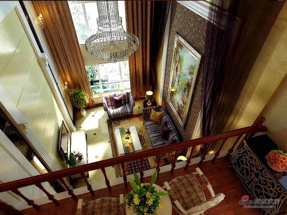 300平豪华美式设计效果图高清图片