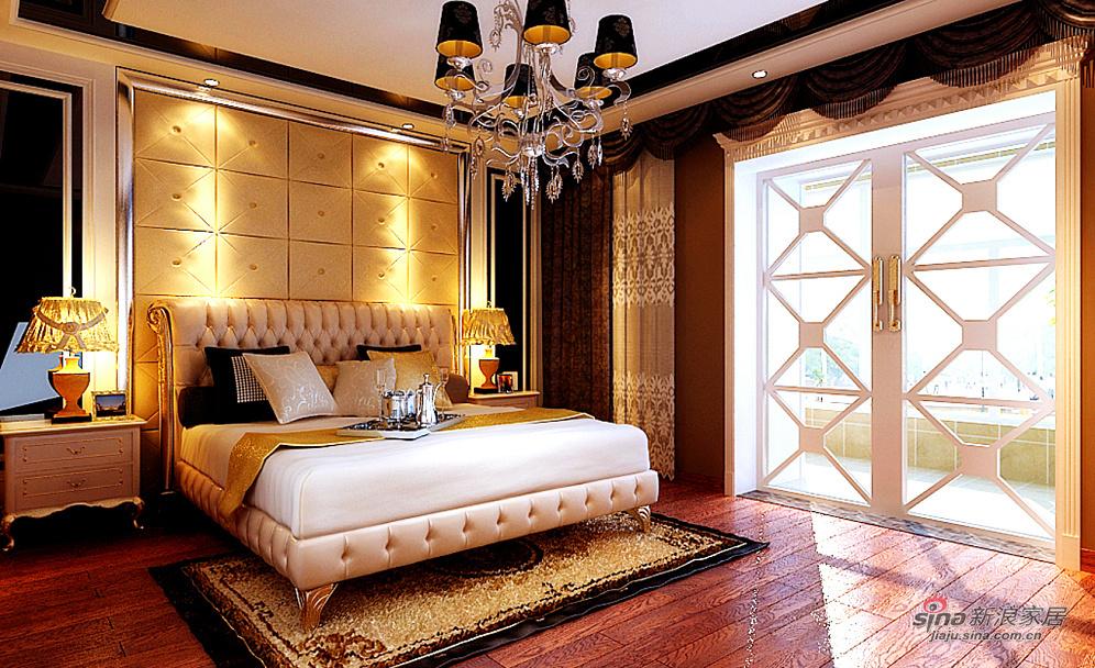 300平豪华美式设计效果图图片 样板间 新浪装修家居网高清图片