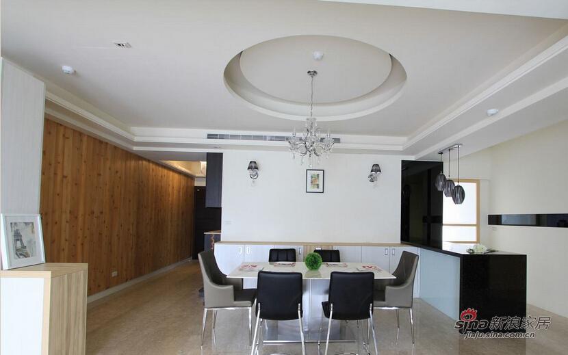 双层的圆弧天花板设计