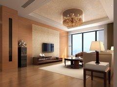 纯净色调130平现代3居婚房