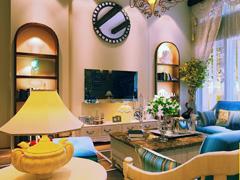 中海尚湖世家地中海风格,亮丽设计