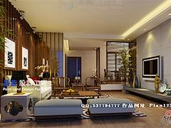 140平米新中式家居设计