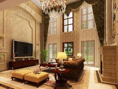 天津海逸别墅700平米欧式风格