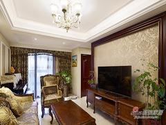 【高清】150平美式新古典3居室