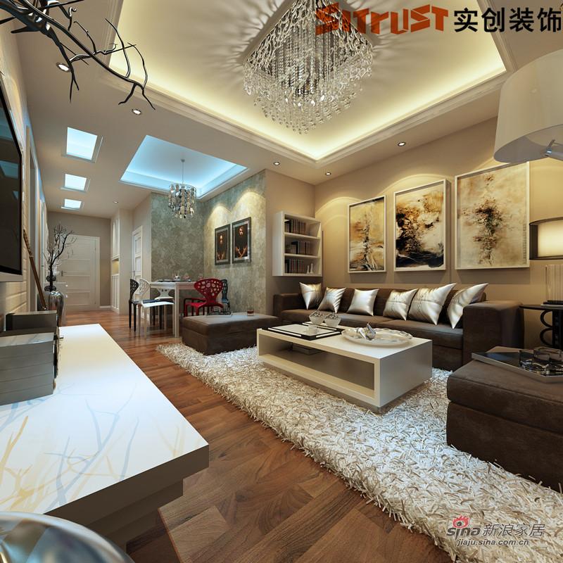 93平三居室装修设计方案 高清图片