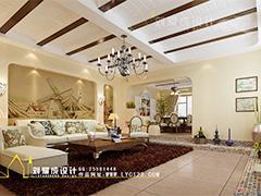 【高清】650平美式乡村复古风格别墅