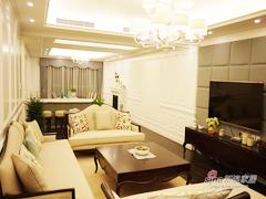 【高清】110平现代美式混搭3居室