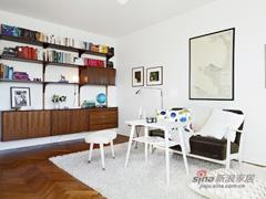 54平紧凑型纯白系单身公寓