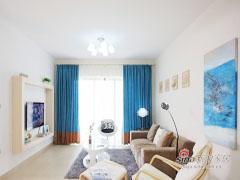 【高清】95平雅致现代时尚两居室
