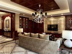 土豪99万打造450平独栋别墅美式大宅