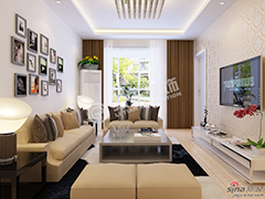 两室两厅现代风格美家