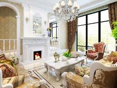 【高清】300平明亮欧式古典风打造完美之家